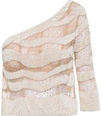 blusa feminina helena - nude