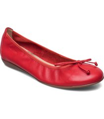 a-6191 iseo ballerinaskor ballerinas röd wonders