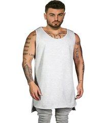 camiseta regata swag lisa longline style