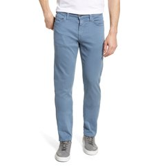 men's 34 heritage courage straight leg jeans, size 32 x 34 - blue