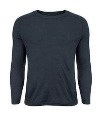 camisa segunda pele manga longa nord outdoor under basic - masculina