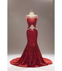 designer inspired most beautiful sequins luxury prom gowns women formal dresses