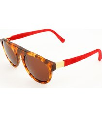 gafas de sol retrosuperfuture retrosuperfuture racer suede 901