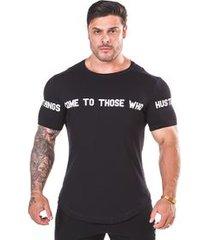 camiseta worldwide preta
