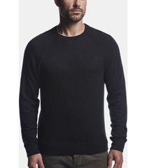 mesh body cashmere sweater