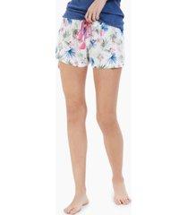 jenni printed woven pajama shorts, created for macy's