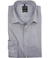 olymp level 5 mouwlengte 7 overhemd grijs