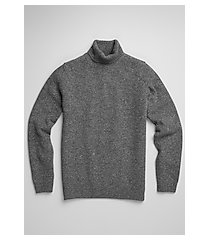 1905 collection tailored fit wool & silk blend turtleneck men's sweater - big & tall