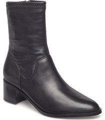 poise leah shoes boots ankle boots ankle boots with heel svart clarks
