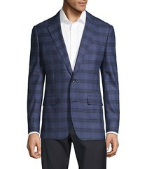 jetsetter slim-fit plaid blazer