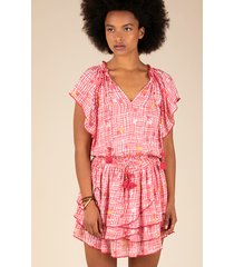 poupette st barth mini elsa dress pink maze