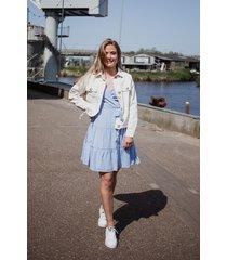 na-kd jurk licht blauw 1100-002169