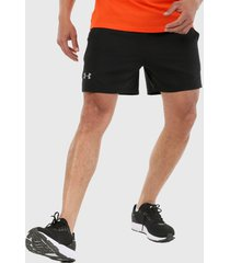 pantaloneta negro under armour ua launch sw 7