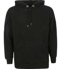 palm angels classic logo over hoodie