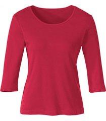 biokatoenen shirt met ronde hals, rot 40