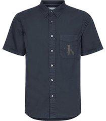 overhemd korte mouw calvin klein jeans j30j315223