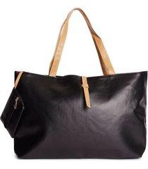 bolso correas de color color negro, talla uni