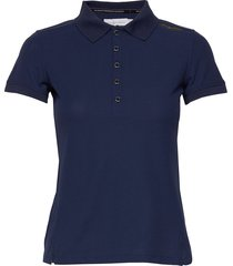 w gale technical polo t-shirts & tops polos blå sail racing