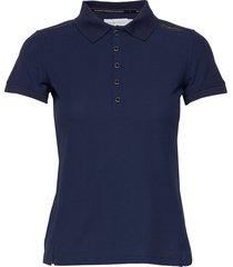 w gale technical polo t-shirts & tops polos blå sail racing