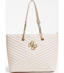 pikowana torba typu shopper z logo 4g model corinne