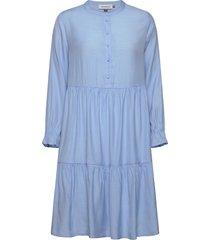 dhnapoli dress kort klänning blå denim hunter