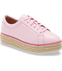 women's halogen x atlantic-pacific theodora platform sneaker, size 9 m - pink
