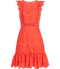 women's sam edelman eyelet a-line dress