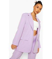 oversized getailleerde blazer, lilac