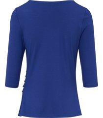 shirt met ronde hals van uta raasch blauw