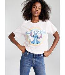 disney juniors' cotton not today stitch-graphic t-shirt