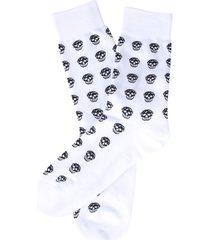 alexander mcqueen skull socks