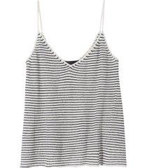 hayley sweater in ivory/black stripe