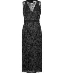 delynna maxiklänning festklänning svart boss