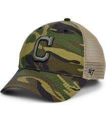 '47 brand cleveland indians camo branson mvp cap