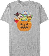 disney pixar men's toy story pumpkin surprise short sleeve t-shirt