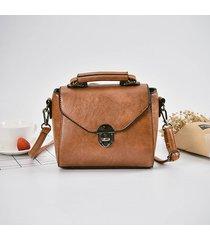 borsa a tracolla da donna in pelle stile retrò borsa messenger borsa