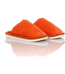 slippers comfy colors mujer naranja