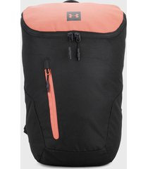 morral  negro-rosa under armour ua sportstyle backpack