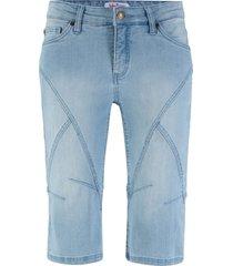 bermuda di jeans elasticizzato (blu) - john baner jeanswear