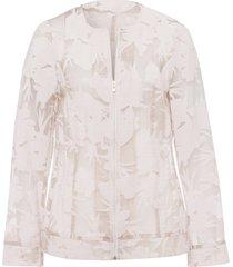 blousejasje met bloemenprint van uta raasch beige
