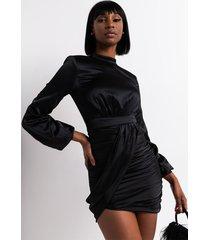 akira keep me cute long sleeve mini dress