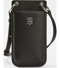 tommy hilfiger women's phone wallet black -