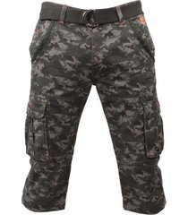 mz72 heren bermuda camouflage oron donker groen