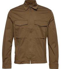 slhadam zip jacket w dun jack bruin selected homme