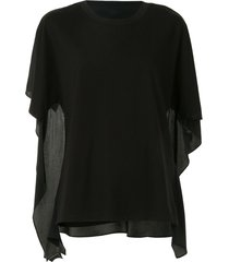 3.1 phillip lim relaxed fit t-shirt - black