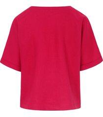 shirt 100% linnen korte mouwen van peter hahn roze