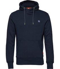 collective hood hoodie trui blauw superdry