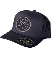 gorra delta sm logo negro