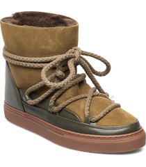 inuikii sneaker classic shoes boots ankle boots ankle boot - flat grön inuikii