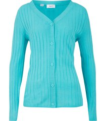 cardigan a coste (blu) - bpc bonprix collection